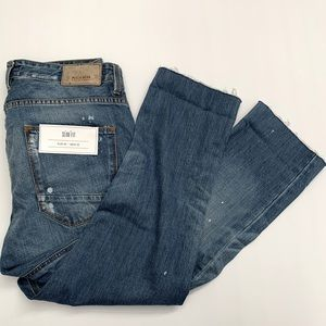 Pull and Bear Women's Jeans - Cropped Slim Fit